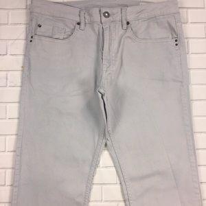 Buffalo Sam X Blue Jeans 34x30 Slim Str8 Pants